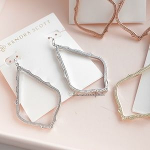 Kendra Scott Jewelry - Kendra Scott Sophee Drop Earrings in Rhodium